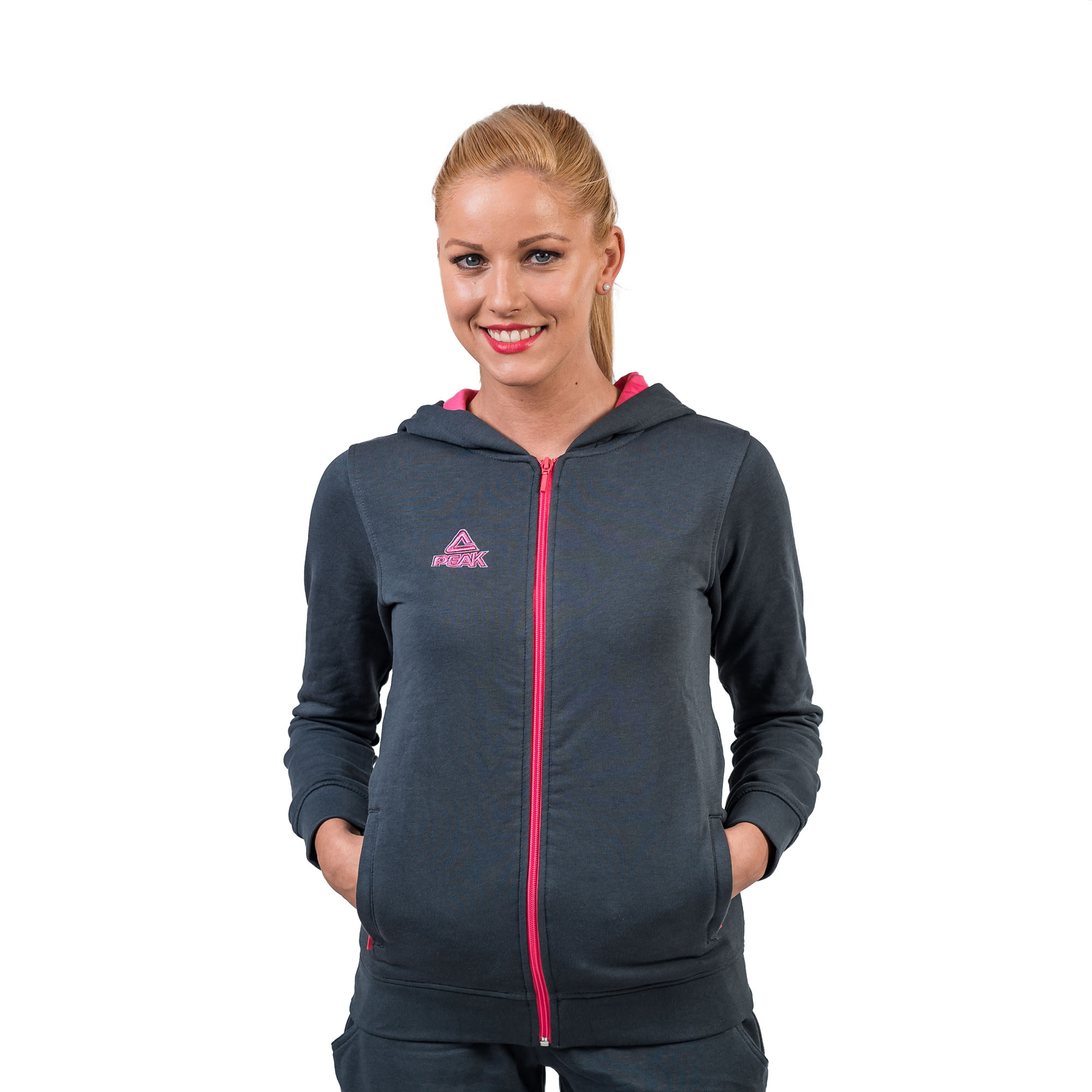 PEAK ZIP Hoody Damen