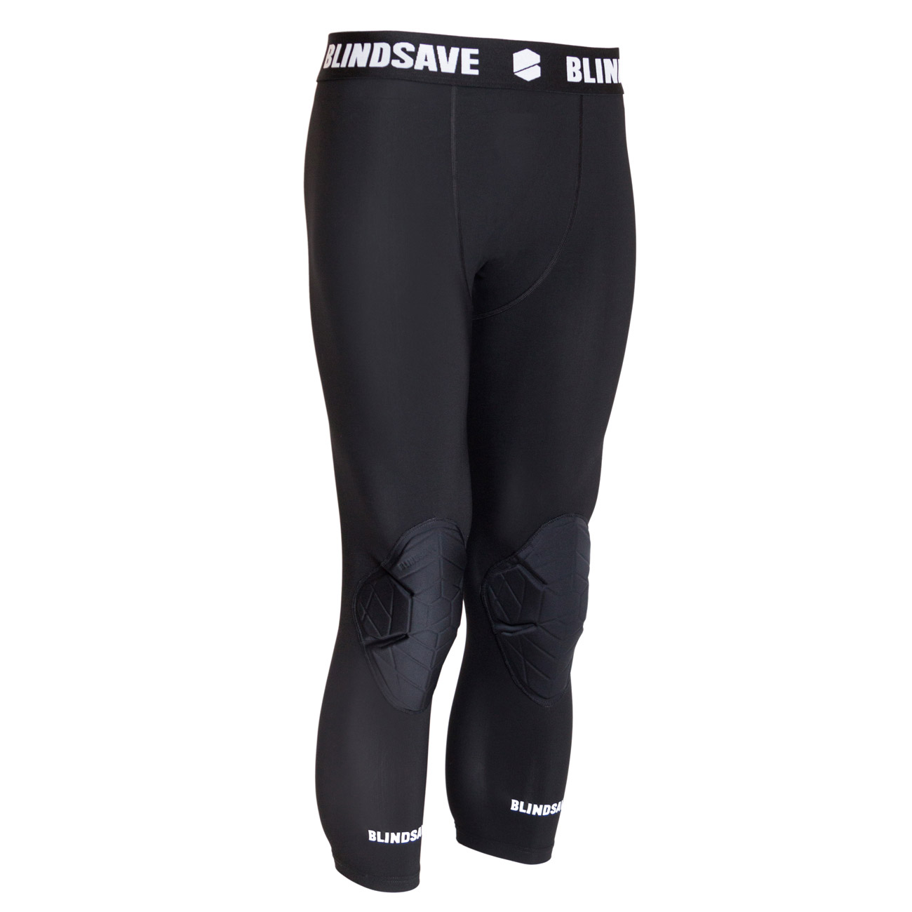 BLINDSAVE Protective 3/4 Tights mit Kniepads