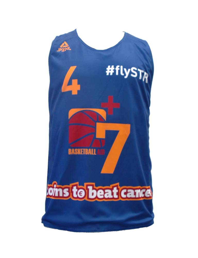 PZNL Reversible Single Jersey Men Basketball - V-Kragen